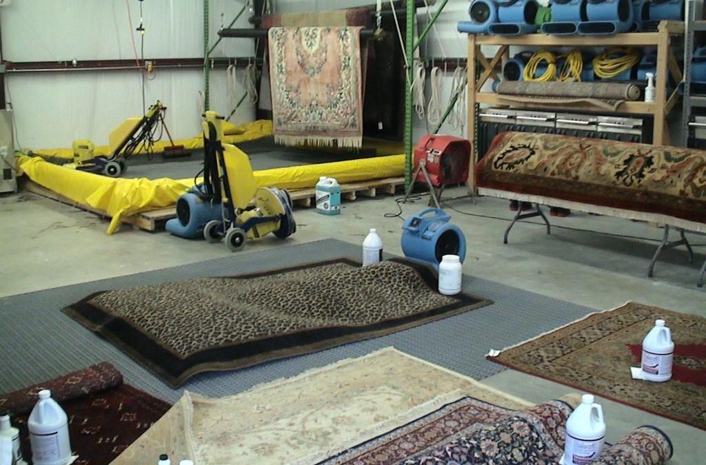Sušenje tepiha