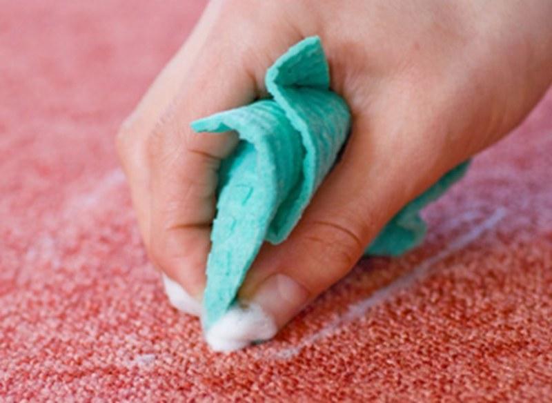 Fleke na tepihu